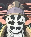 how to make a rorschach mask